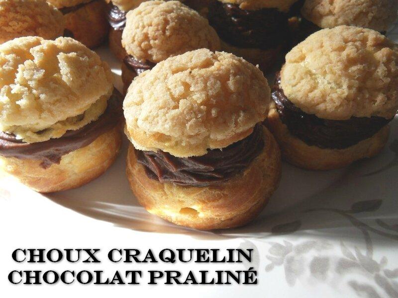 chou chocolat praliné1