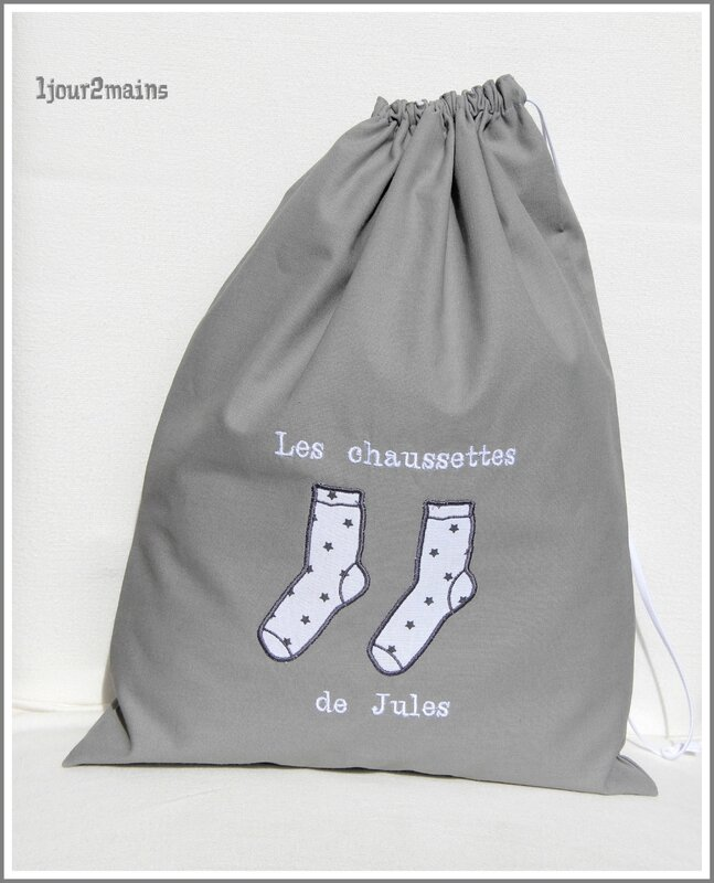 sac chaussettes jules
