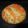 Quiche surimi multi-céréales (sans pâte)
