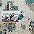 Page souvenirs - dt lorelai design - collection cliché