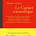 Le carnet scientifique - mathieu vidard