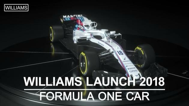 WILLIAMS MARTINI RACING FW 41 F8