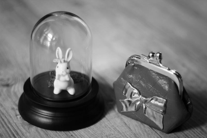 bijoux lapins petit porte monnaie cuir