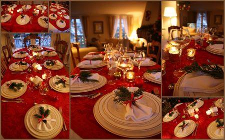 table de Noel 2009