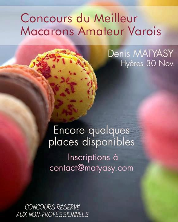 concours macarons