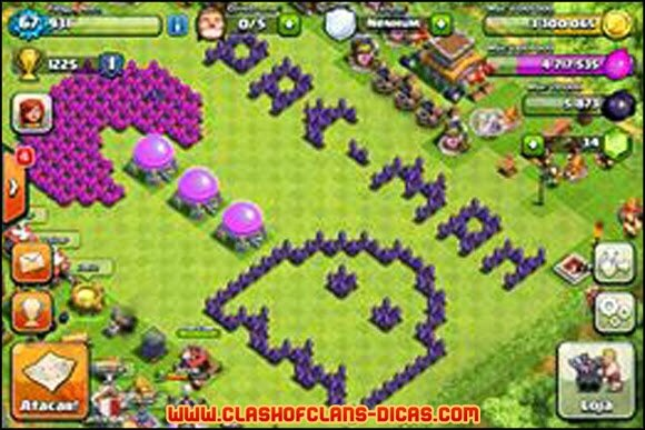 clash of clans village parfait hdv 8