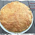 Tourte feuilletée farcie au thon ( 660 cal/ par personne)