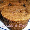 Muffins coeur carambar