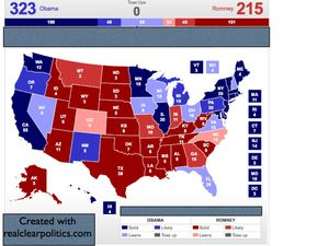 Presidential Election Projection 8