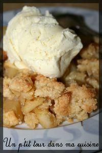 Crumble pommes caramel3