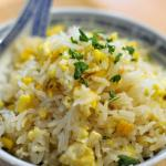 Fried eggs rice4