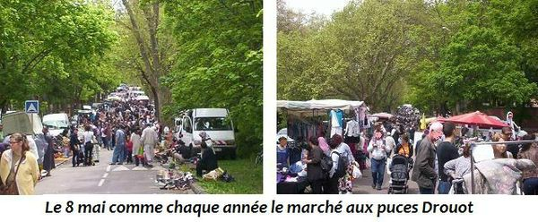 March aux puces Raing