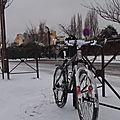 VTT sous la neige