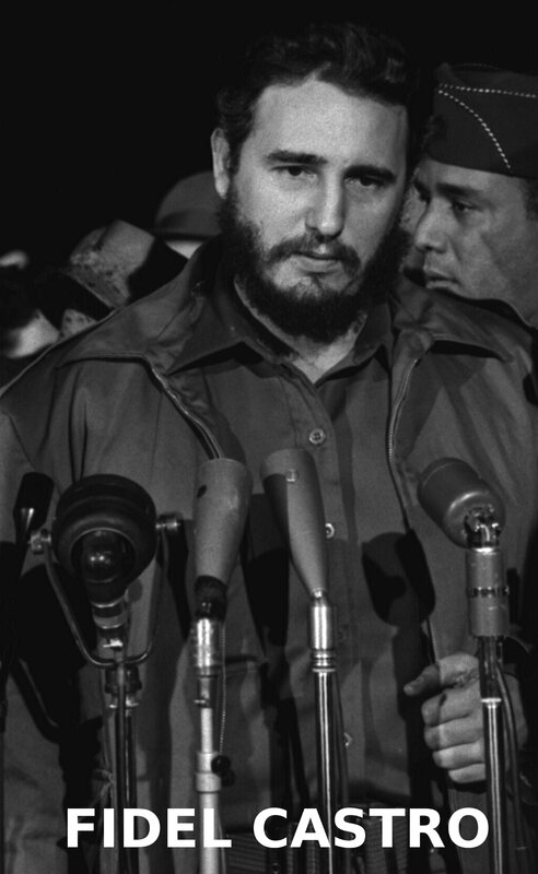 1959-Fidel_Castro in Washington