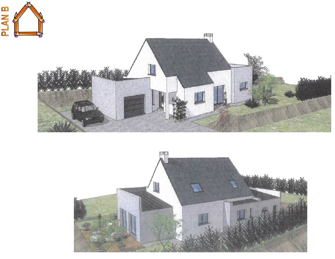 Construction d 39 une maison d 39 habitation rt 2012 le plan b for Construction maison en 3d