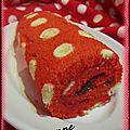 Gâteau roulé à pois (3)