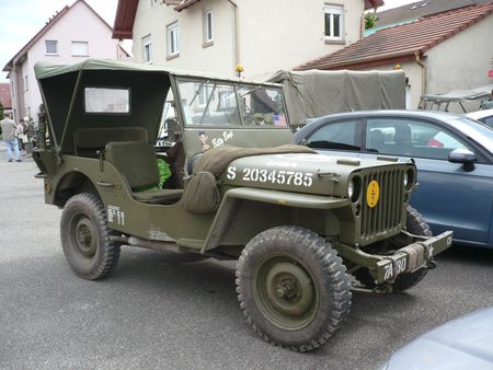 WILLYS Jeep MB Truck 1-4 Ton 4x4 Herrlisheim (1)