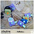 Porte jeton de caddi et range casque audio #zibulne - bulledeire