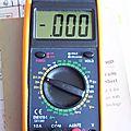 Réparer son multimètre mlt-100p