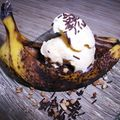 gondole banane/choco /vanille