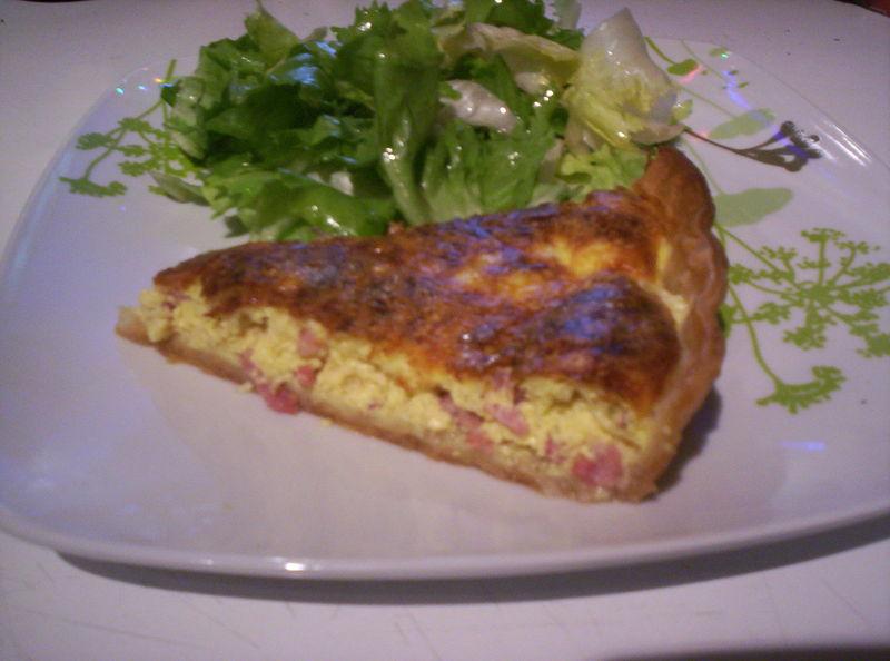 Quiche lorraine la cuisine de kanette for Cuisine quiche lorraine