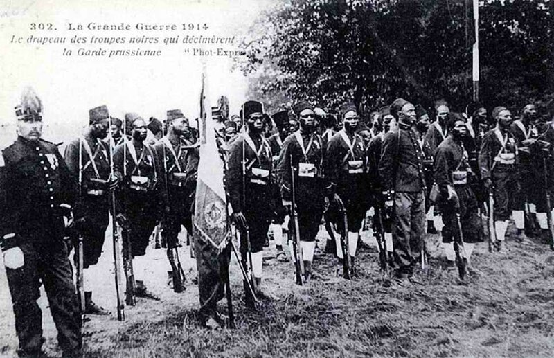 Troupes noires 1914