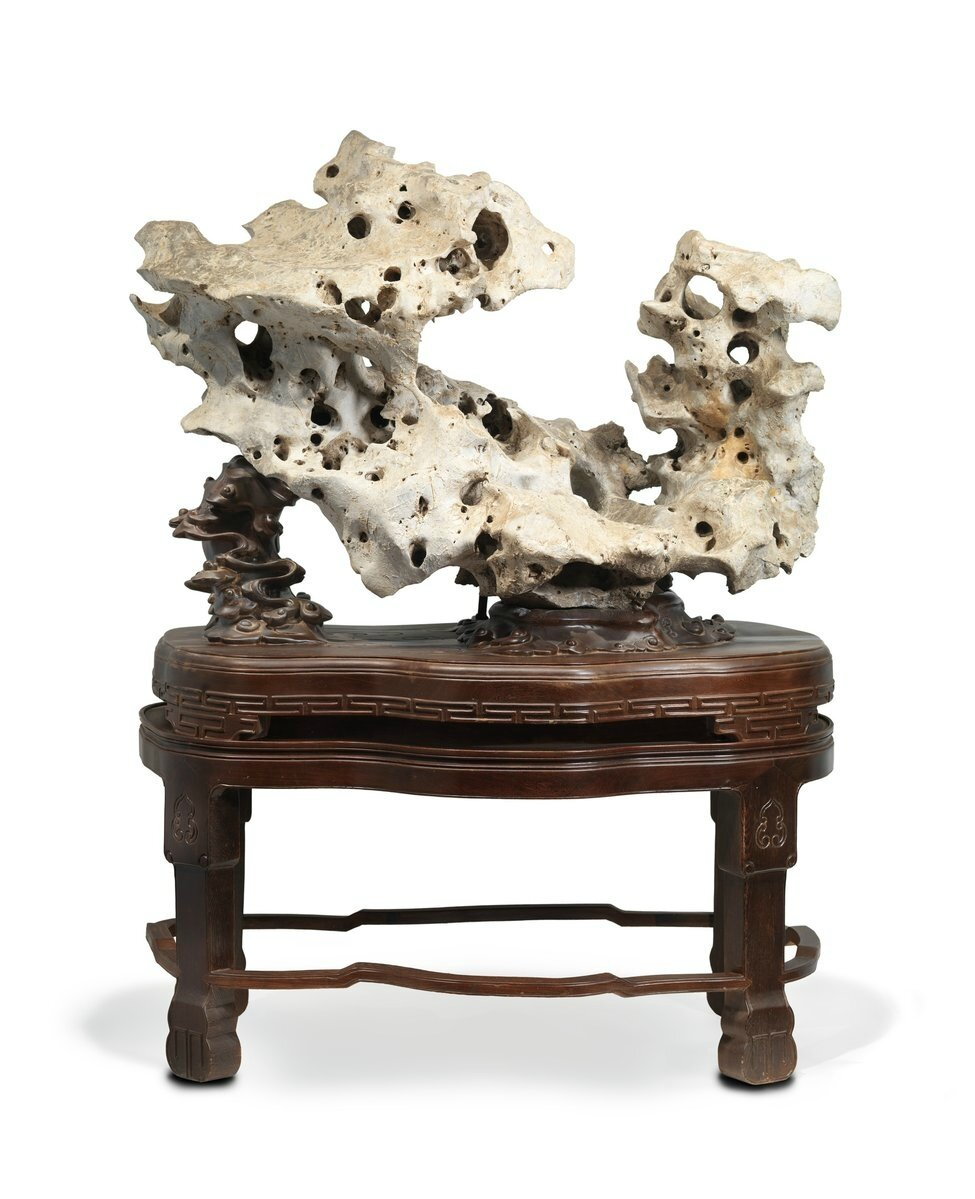 Wu Bin\'s \'Ten Views of a Lingbi Stone\' now on view at Los Angeles ...