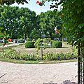 La roseraie de la Pépinière à Nancy