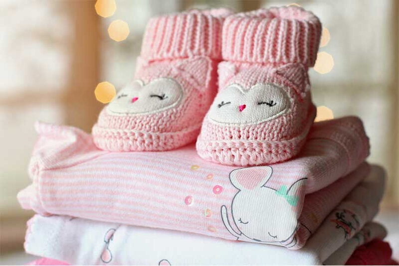 Playful baby clothes