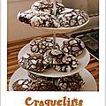 Craquelin au chocolat et épices