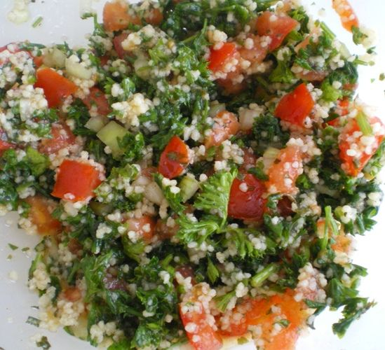 ha, la cuisine libanaise ! - bache à la cuisine!