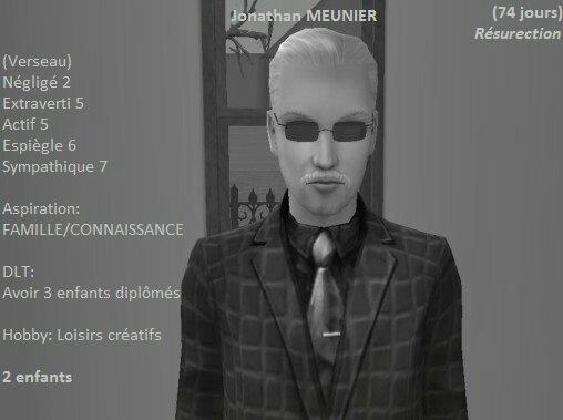 Jonathan Meunier (73 jours)