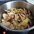 Gelée d'épluchures de pommes