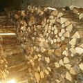 stock de bois