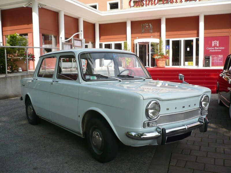 SIMCA 1000 berline Niederbronn (1)