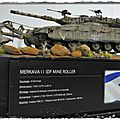 Photos finales merkava ii idf mine roller
