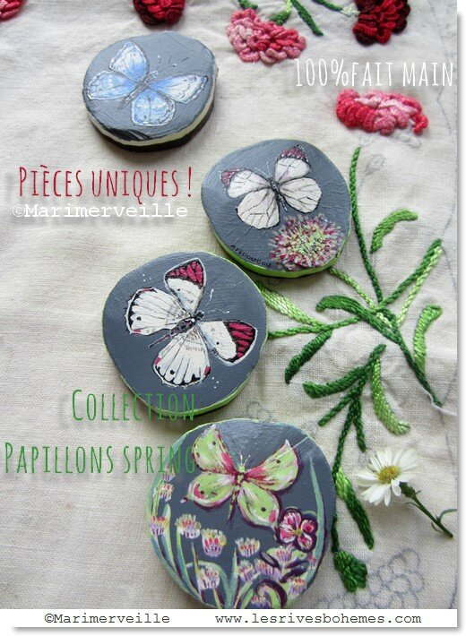 Marimerveille collection papillons spring