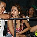 Jolin attends sodagreen's take me home concert in taipei