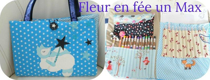 valise d'artiste Fleur