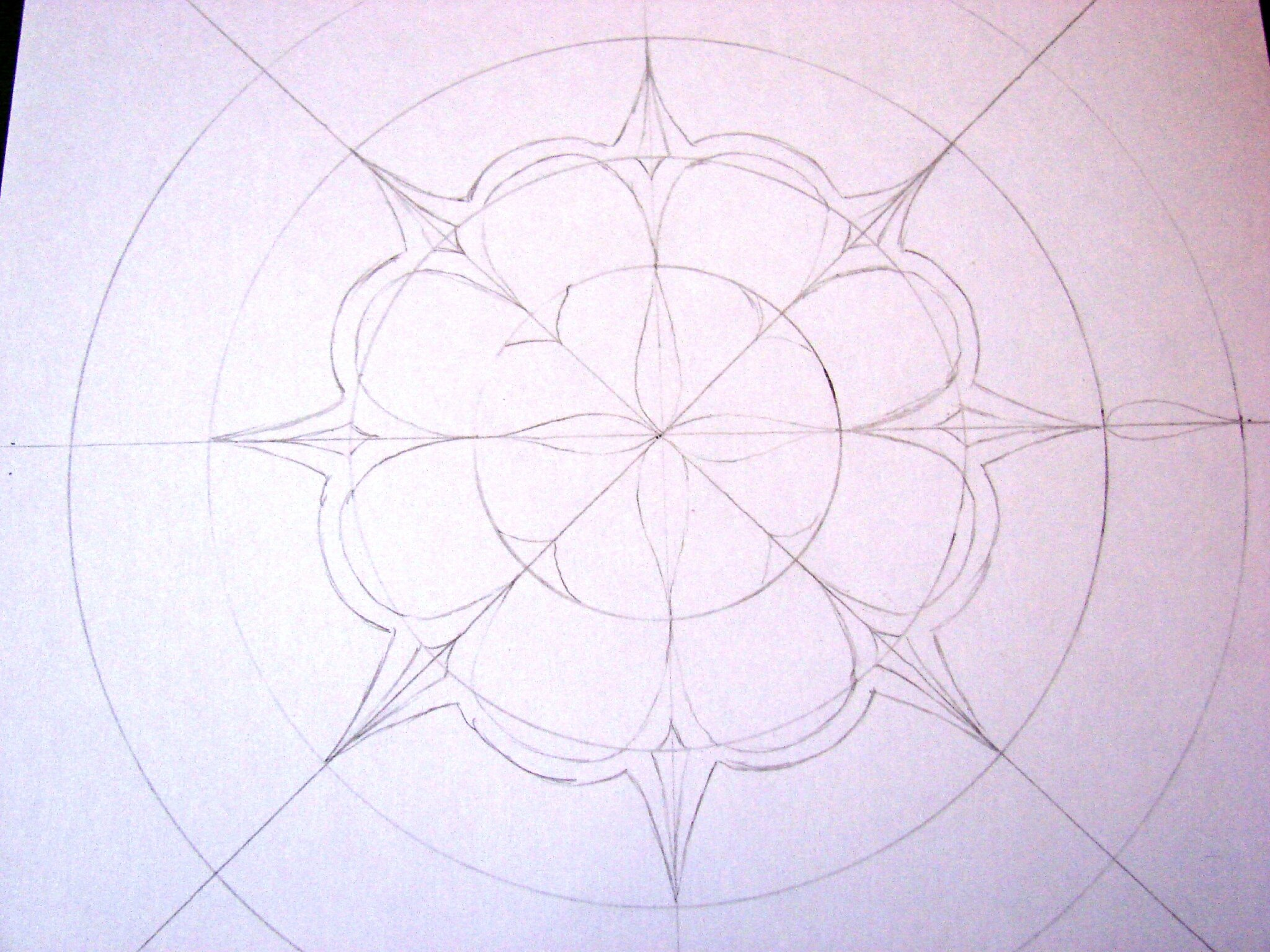 tuto dessin mandala. Black Bedroom Furniture Sets. Home Design Ideas