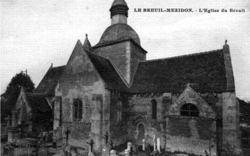 Le Breuil - l'église