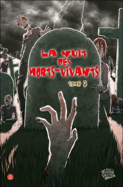 100% panini la nuit des morts vivants 3