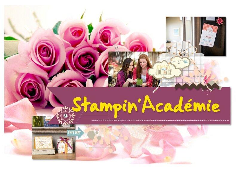 Stampin'académie katia Nésiris