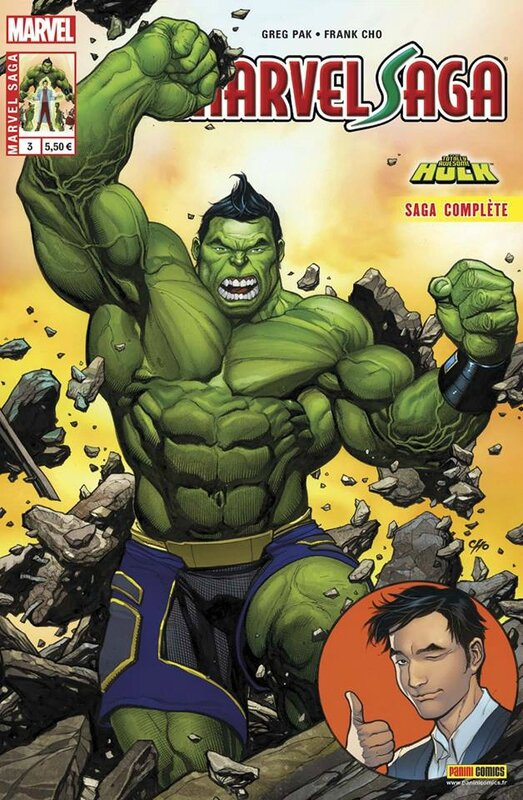 marvel saga V3 03 totally awesome hulk