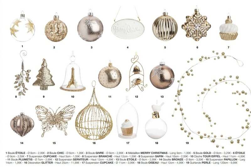 En avant premi re la collection maisons du monde no l 2014 exclusivit c - Maison du monde deco noel ...