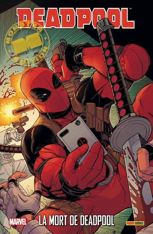 marvel monster deadpool la mort de deadpool