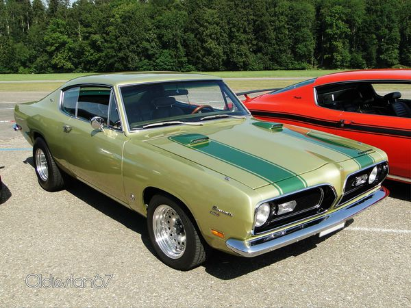 plymouth barracuda 340s coupe 1969 c