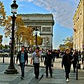 Instantané sur les Champs Elysées.