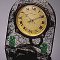 Gem-set desk clock, cartier, 1920s.
