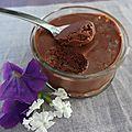 Mousse au chocolat express comme un gü